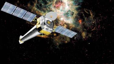 Le spatio-télescope Chandra spécialisé dans la vision des rayons X.