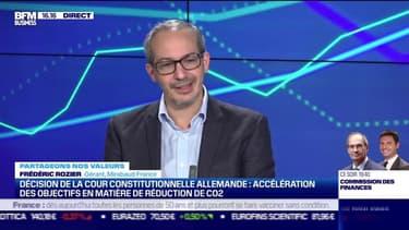 Frédéric Rozier (Mirabaud France) : La Cour constitutionnelle allemande décide une accélération des objectifs en matière de réduction de CO2 - 10/05