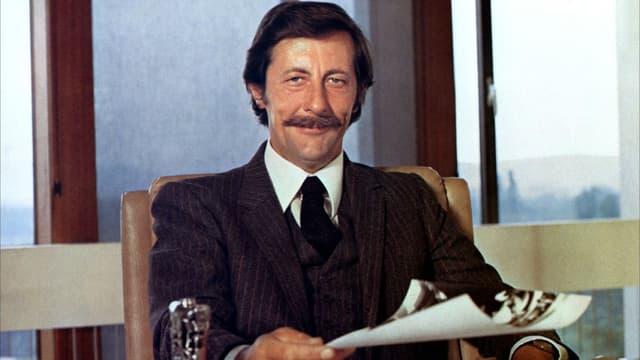"""Jean Rochefort dans """"Le Grand Blond avec une chaussure noire"""" d'Yves Robert en 1972"""