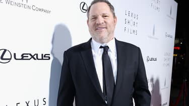 Harvey Weinstein à Los Angeles en février 2013