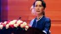 Aung San Suu Kyi, en février 2018.