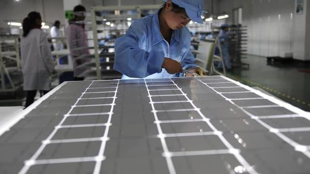 La Commission européenne a décidé de frapper de droits de douane les importations de panneaux de solaires de la Chine en dépit de l'opposition de l'Allemagne et d'autres pays. /Photo d'archives/ REUTERS/