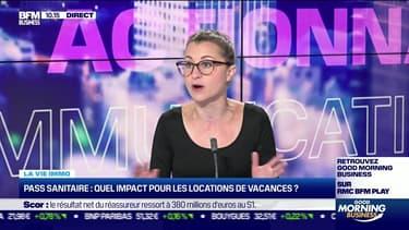 Marie Coeurderoy: Pass sanitaire, quel impact pour les locations de vacances ? - 28/07