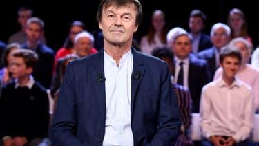 Nicolas Hulot, ancien ministre de la Tranisition écologique, ce jeudi soir sur Farnce 2 .