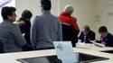 La file d'attente pour voter à la primaire de la gauche ce dimanche 22 janvier.