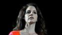 """Lana Del Rey, ici le 13 avril à Coachella, a confié son obession pour la mort, alors que sort lundi son nouvel album, """"Utraviolence""""."""