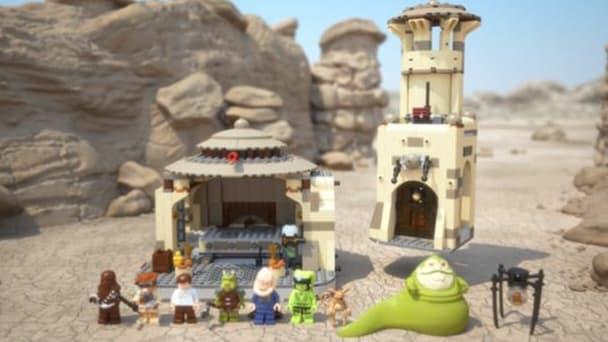 Le jeu LEGO Star Wars 9516