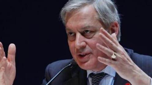 Le gouverneur de la Banque de France, Christian Noyer, se dit convaincu que la Banque centrale européenne interviendra, s'il le faut, pour la croissance en Europe.