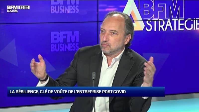BFM Stratégie (Cours n°113): la résilience, clé de voûte de l'entreprise post-Covid - 05/12
