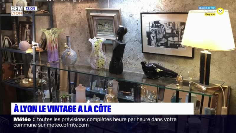 Lyon: le retour en force du vintage