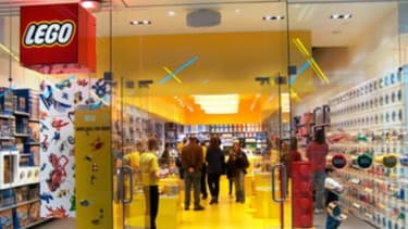 Un des Lego Store que compte l'entreprise danoise