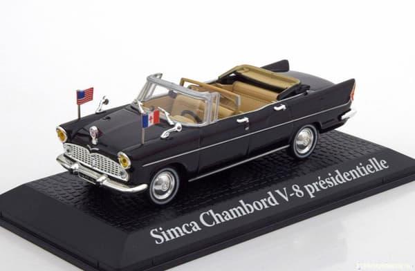 La miniature de cette voiture présidentielle utilisée par le général de Gaulle