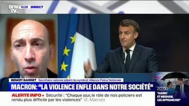 """Benoît Barret (Alliance Police): """"La réponse pénale est au cœur des soucis de cette société"""""""