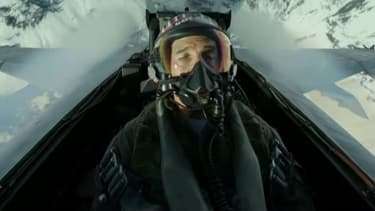 Tom Cruise dans Top Gun Maverick