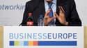 Lors d'un colloque de chefs d'entreprise à Bruxelles, le président du conseil italien Mario Monti a joint sa voix aux appels en faveur d'une réorientation vers la croissance des politiques menées dans l'Union européenne. /Photo prise le 26 avril 2012/REUT
