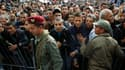 """Rassemblement de dizaines de milliers de Tunisiens à Sidi Bouzid, dans le centre du pays, pour commémorer l'an I de la """"révolution du jasmin"""", à l'origine d'une année de bouleversements dans le monde arabe. /Photo prise le 17 décembre 2011/REUTERS/Zoubeir"""