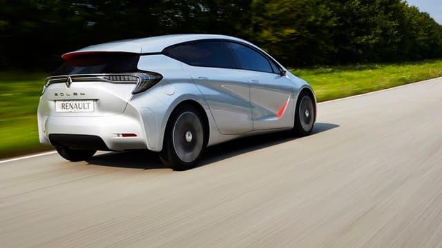 L'Eolab ne sera jamais commercialisée telle quelle, mais Renault l'a présentée à la presse lors du Mondial de l'automobile.