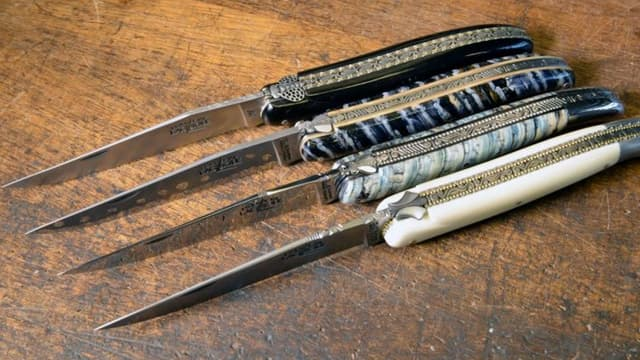 Les couteaux Forge de Laguiole
