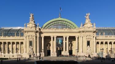 La façade principale du Grand Palais, à Paris.