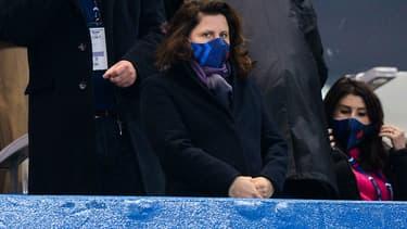 La ministre déléguée aux Sports, Roxana Maracineanu