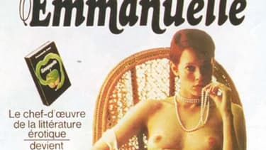 L'affiche du film Emmanuelle, en 1974.