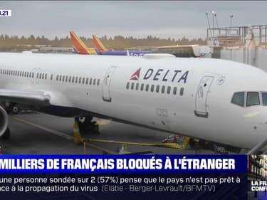 À cause du coronavirus, des milliers de Français bloqués à l'étranger