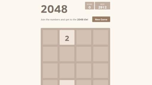 2048 est le nouveau jeu ultra-addictif sur mobile.