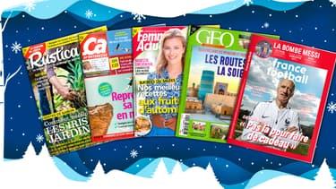 Offrez un abonnement à un magazine pour Noël !