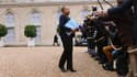 La ministre de la Justice, Christiane Taubira, à la sortie de l'Elysée le 6 novembre 2013.
