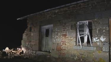 L'enfant a été tué par l'effondrement de ce mur, dans le Calvados.