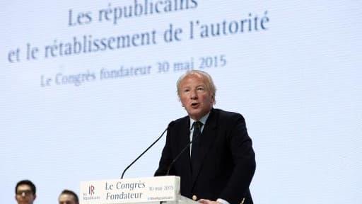 Brice Hortefeux, le 30 mai 2015 à Paris