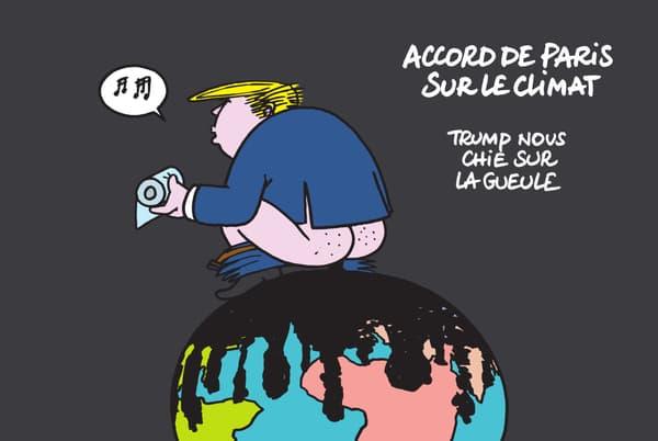 Trump par Geluck