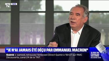 """François Bayrou: """"La représentation des Français est injuste"""""""
