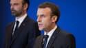 Emmanuel Macron et Edouard Philippe le 23 mars 2018.