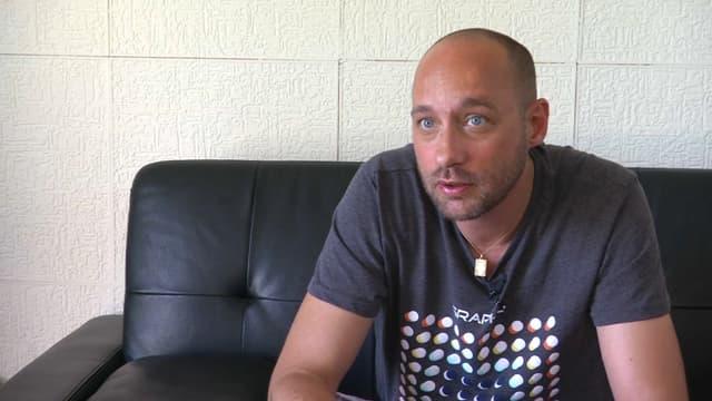 Fabien a perdu son fils dans le drame de Millas en décembre dernier.