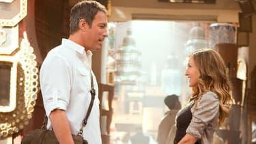 """Aidan et Carrie dans le film """"Sex and the City 2"""""""