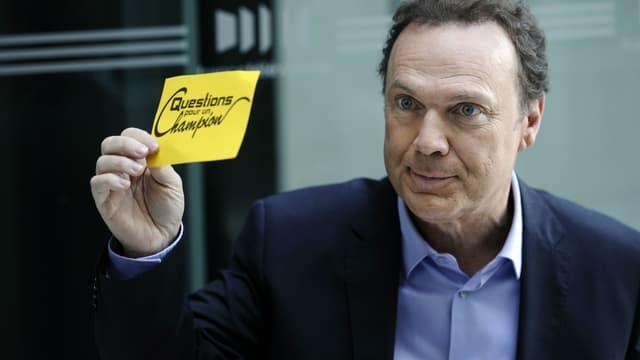 Julien Lepers à la rentrée de France Télévision en 2011