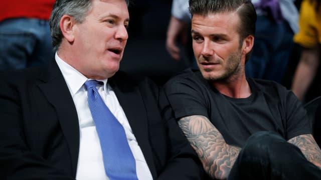 David Beckham et Tim Leiweke