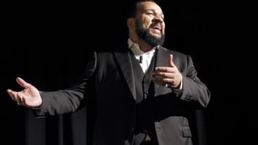 L'humoriste controversé Dieudonné n'a pas pu donner son spectacle à Châtillon.