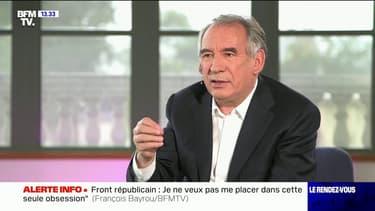 """François Bayrou: """"Il faut obtenir une immigration maîtrisée, régulée, dont on reprend le contrôle"""""""