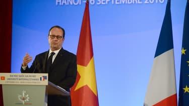 François Hollande est en visite au Vietnam.