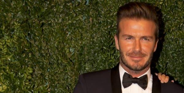 David et Victoria Beckham en 2014.