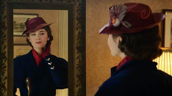 """Emily Blunt dans Le retour de Mary Poppins""""."""