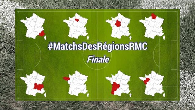 Le match des régions RMC