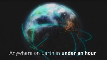 Alon Musk veut proposer des vols en fusée pour relier différents points de la Terre.