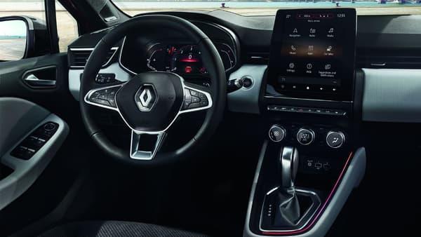 Un grand écran positionné à la verticale et des compteurs numériques pour la nouvelle Clio.