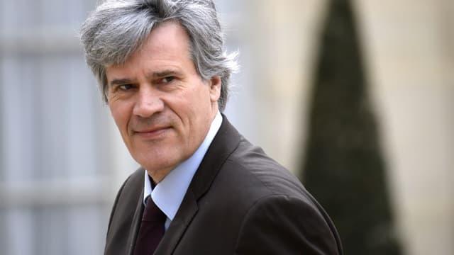 Stéphane Le Foll, le 4 avril 2014, à l'Elysée.