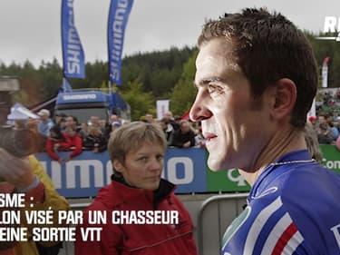 Cyclisme : Absalon visé par un chasseur en pleine sortie VTT