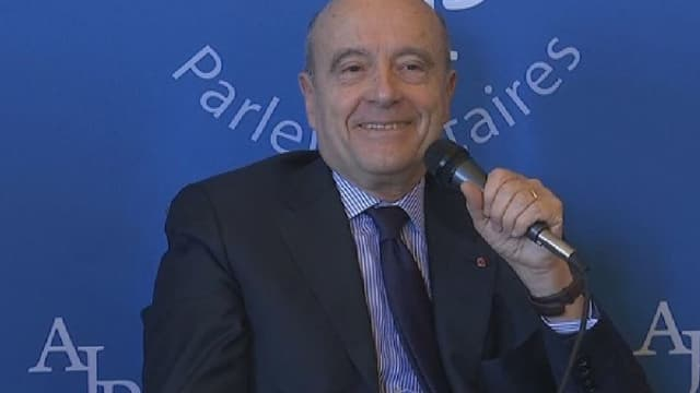Alain Juppé a expliqué avec un grand sourire donner des conférences gratuites.