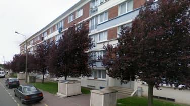 Le drame s'est produit dans cette rue, à Lille.